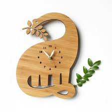wooden animal wall animal wall clocks animal wall clock