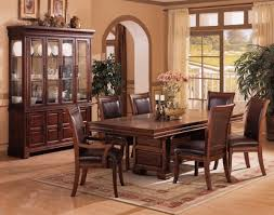 wood dining room sets dining room sets leather chairs playmaxlgc com