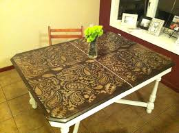 Painted Kitchen Table Ideas by Painting Table Ideas Indelink Com