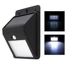 Solar Powered Motion Sensor Outdoor Light by Cheap Led Solar Wall Light Motion Sensor Find Led Solar Wall