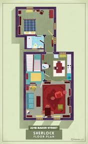 Floor Plan Of A Living Room Tv Floorplans How The Apartments In Your Favourite Shows Are