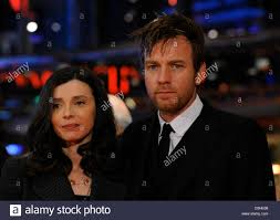 The Ghost Writer Scottish Actor Ewan Mcgregor And His Wife Eve Mavrakis Arrive For
