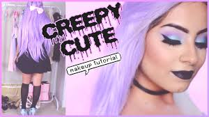 Goth Looks For Halloween Pastel Goth Makeup Tutorial U0026 Pastel Goth Style