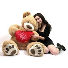 teddy bears for valentines day i you 5 foot teddy s day soft holds big