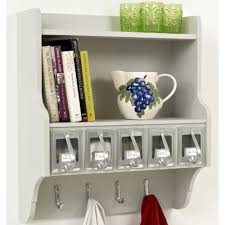 simple small kitchen wall shelving ideas image 10 kitchen wall