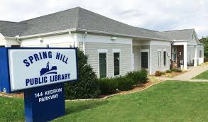 spring hill tn official website