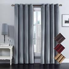 Burgundy Velvet Curtains 311547415083 2 Jpg