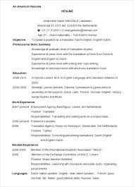 internship resume template microsoft word top sle resume microsoft word articlesites info