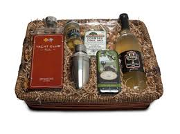 martini gift basket yacht club martini gift basket