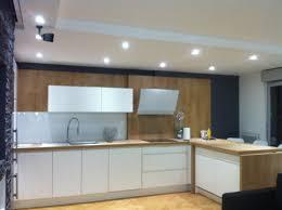 cuisine basse éclarage de la cuisine avec spot led de basse tention bois colombes