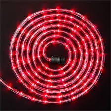 Christmas Rope Lights Bunnings click 10m festive led light rope red bunnings warehouse