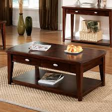 Dark Cherry Sofa Table by Shop Steve Silver Company Huntington Dark Cherry Rectangular