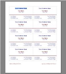 free blank business card template word presentation cards template
