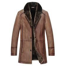 mens genuine shearling coat cw857019 cwmalls com
