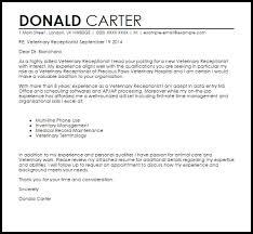 vet cover letter