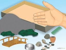 zen sand garden for desk how to make a zen garden for your desk 8 steps with pictures
