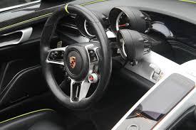 Porsche 918 Concept - video porsche 918 spyder concept driven at pebble beach photos