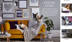 create a cosy home with cushions and throws