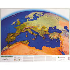 Roman Map Map Of The Roman Empire Poster Lp947