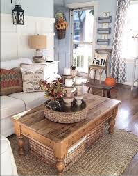 coffee table with baskets underneath living room ideas