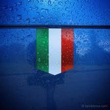 Italain Flag Flag Of Italy Car Sticker 1 3 8