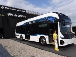 philippines bus hyundai launches its first mass produced all electric commuter