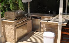 replace the old grill with a modern outdoor kitchen u2013 los