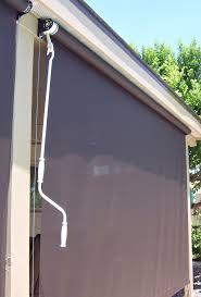 Roll Up Sun Shades For Patios Patio Roll Up Shades Arizona Sun Screen