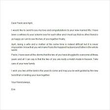 wedding wishes letter for best friend 25 images of wedding letter template infovia net