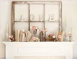 Mantel Decor Cute And Easy Valentine U0027s Ideas Mantel Ideas Mantels Decor And