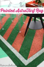 Green Turf Rug Diy Painted Astroturf Rug Perfect For Summer Events