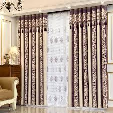 Thermal Energy Curtains Purple Flower Luxury Thermal Energy Saving Custom Curtains