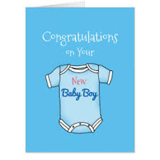 congrats on your new card congratulations on your new baby boy cards invitations greeting