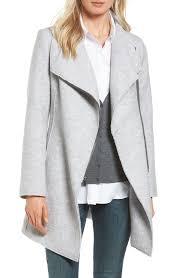 women s grey wool wool blend coats nordstrom