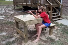 Portable Shooting Bench Building Plans Shooting Bench