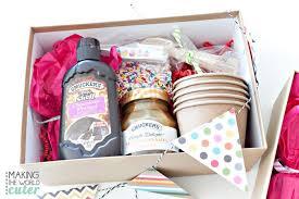 Ice Cream Gift Basket Ice Cream Sundae Gift
