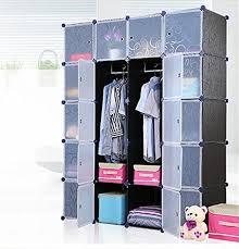wardrobe storage cabinet white unicoo multi use diy plastic 20 cube organizer bookcase storage