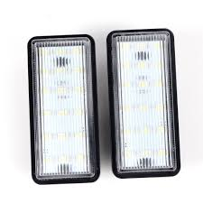 amazon com 2x 18 1210 smd led direct replacement license plate