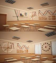 bms baku modern math classroom design by