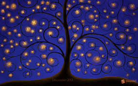 2560x1600 tree of lights desktop pc and mac wallpaper