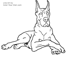dane coloring middot greyhound free coloring pages