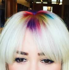 rainbow roots is the latest hair trend taking over instagram