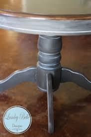 Dining Room Table Refinishing Lumleybelle Refinished Shabby Chic Round Pedestal Dining Kitchen