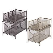 Under Desk Pull Out Drawer Org Under The Sink Mesh Slide Out Cabinet Drawer Storage Drawers