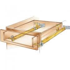kitchen cabinet drawer guides suspension drawer slide pair rockler woodworking and hardware