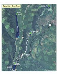 Opal Creek Oregon Map Willamette National Forest Tamolitch Falls Blue Pool 3507