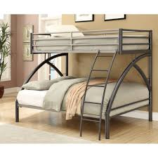 bunk beds twin over full bunk bed with stairs and desk metal