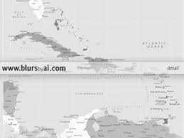 Map Of The Caribbean Islands Printable Map Of The Caribbean Islands With Capitals And Cities