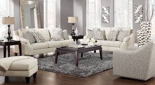 rooms to go living rooms regent place beige 7 pc living room living room sets beige