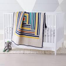 boys crib bedding sets the land of nod